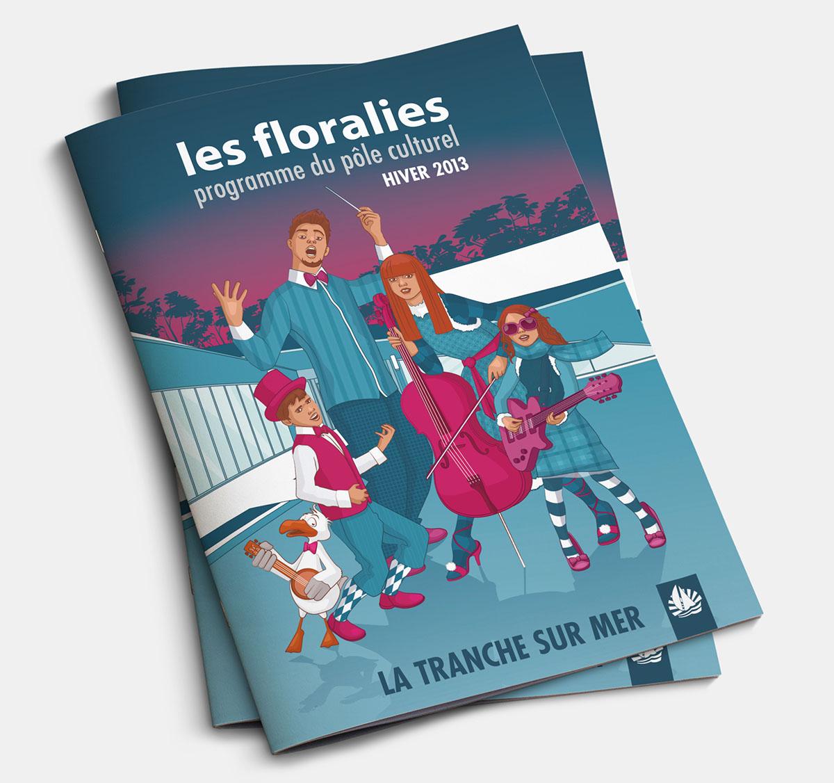 Audrey Bareil Communication Les Floralies 2014 guide