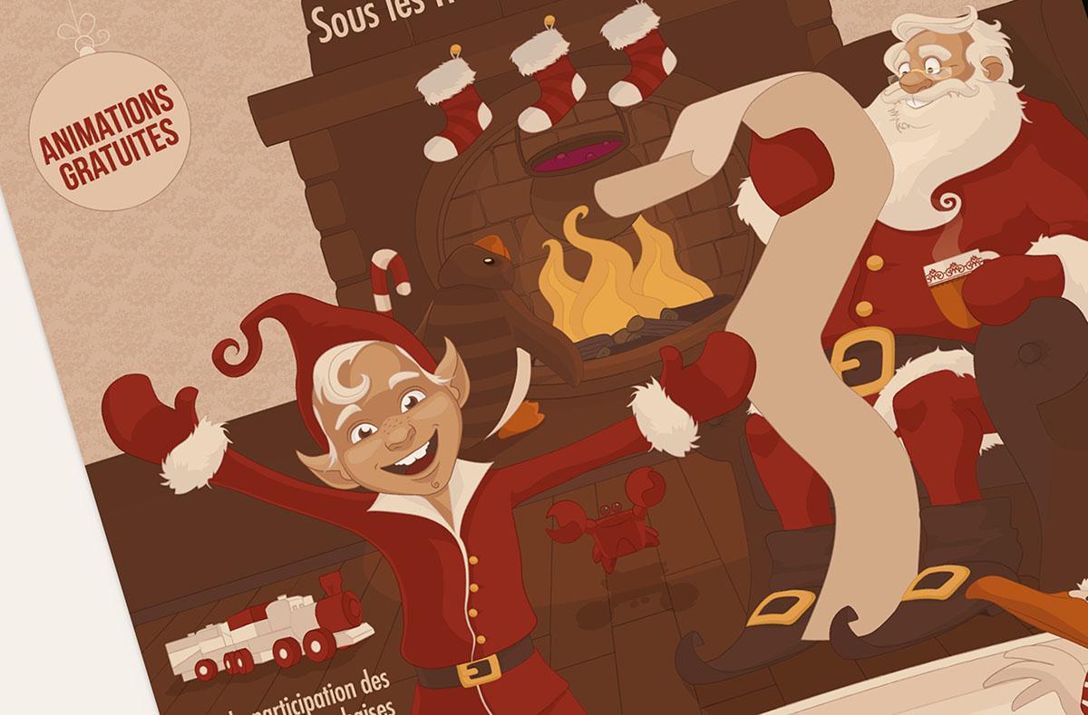 Audrey Bareil Communication Noël affichezoom