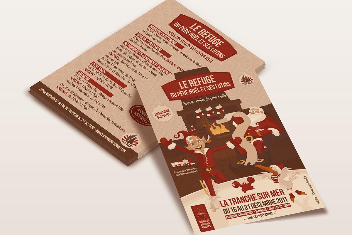 Audrey Bareil Communication Noël tract2011