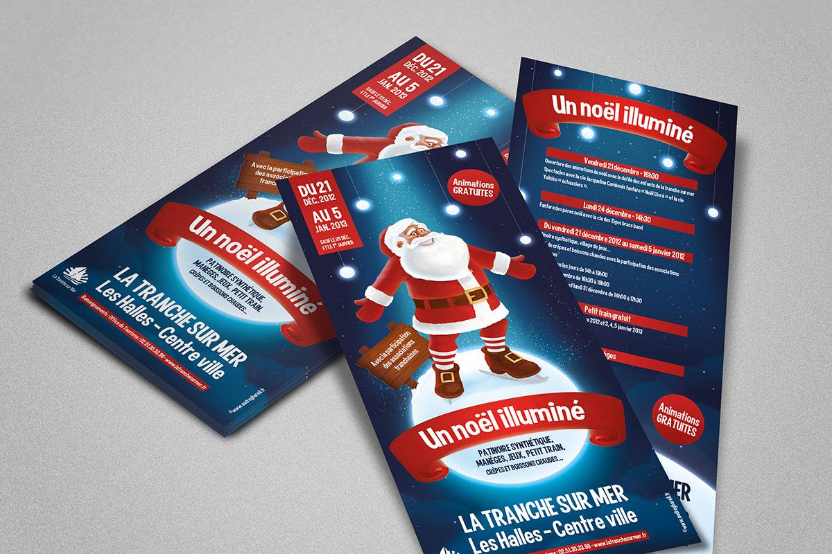 Audrey Bareil Communication Noël tract2012